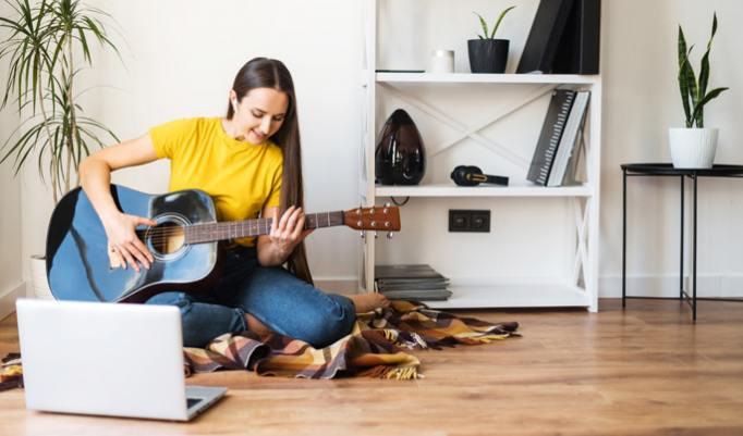 Onlinekurs Gitarre spielen lernen