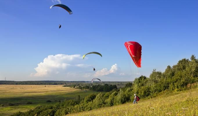 Gleitschirm Tandemflug in Baiersbronn oder Oppenau