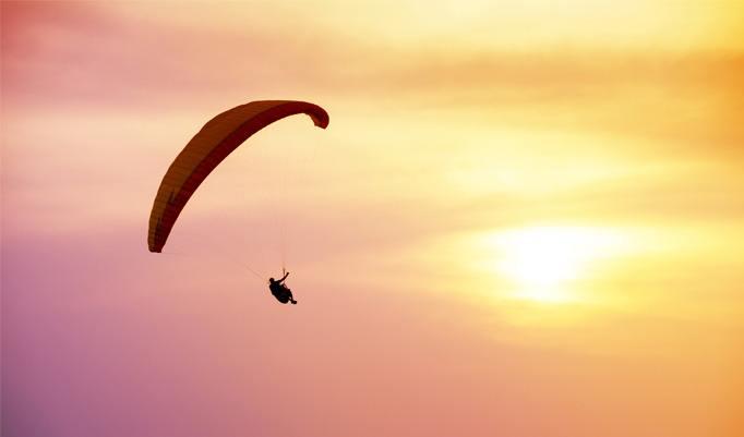 Gleitschirm fliegen in Gais