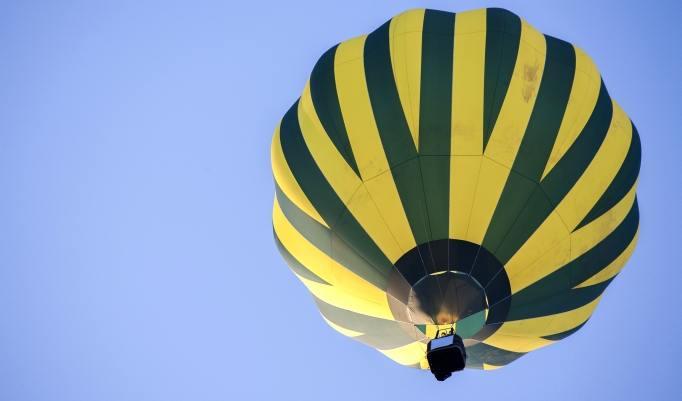 Heißluftballonfahrt in Riesa