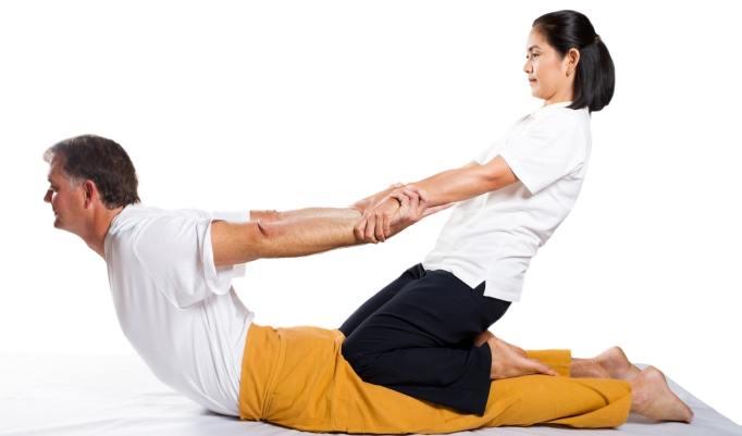 Thai Yoga Massage behebt Rückenprobleme