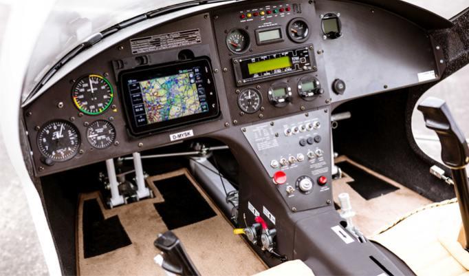 Gyrocopter Cockpit