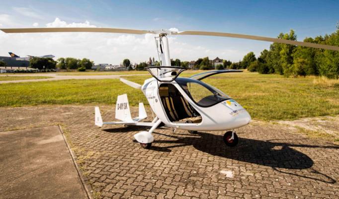 Gyrocopter selber fliegen in Speyer