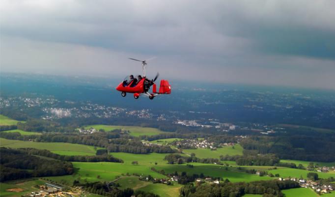 Gyrocopter Rundflug im Bergischen Land