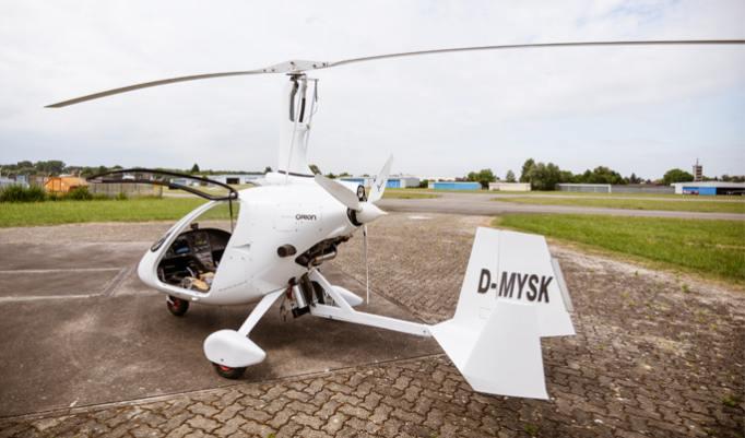 Gyrocopter fliegen in Mannheim