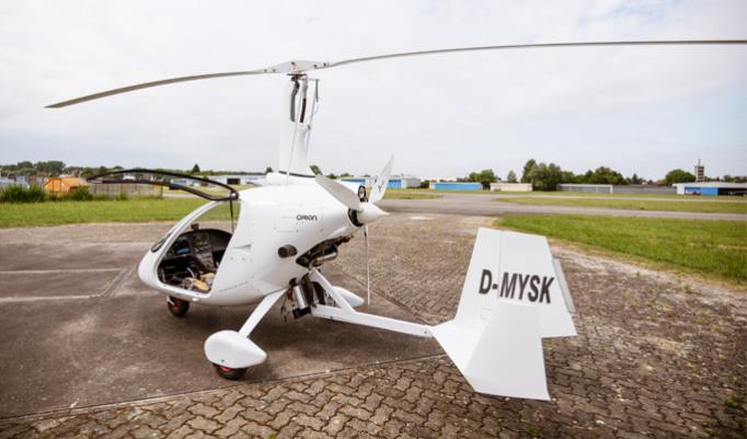 Gyrocopter fliegen in Speyer