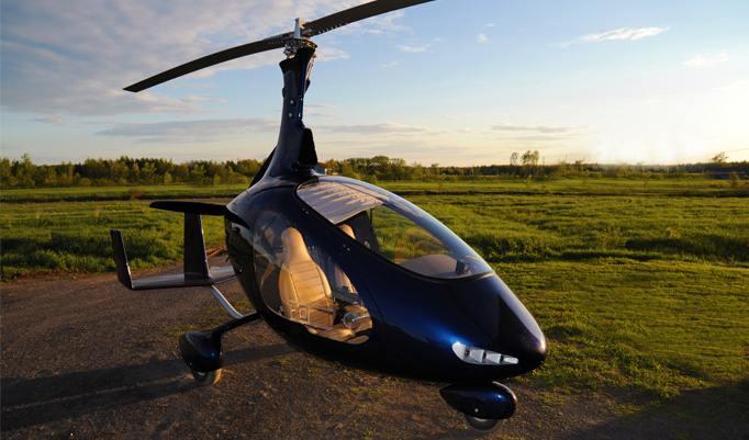 Gyrocopter Flug Bohmte