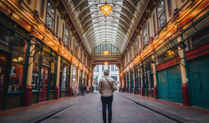 Drehorte Harry Potter London besuchen