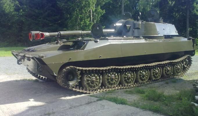 Panzer fahren SFL-Haubitze 2 S1 in Benneckenstein