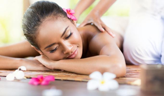 stressbefreiende Hawaii Massage