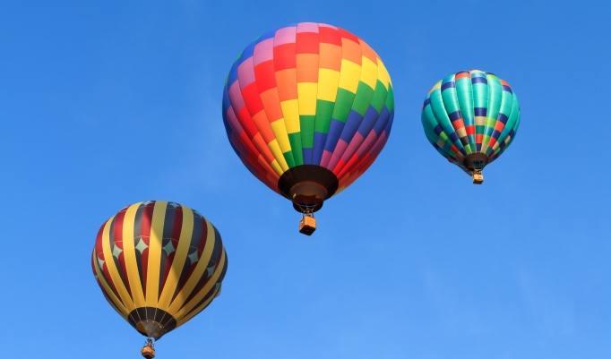 Ballonfahrt über Meiningen