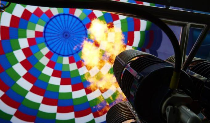 Gutschein für Ballonfahrt z zweit im Ruhrgebiet