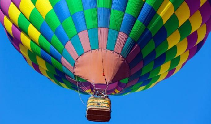 Heißluftballonfahrt in Marl
