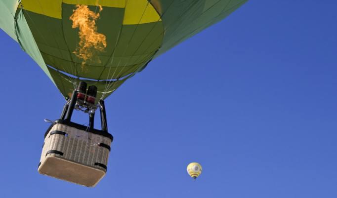 Romantische Geschenkidee für Paare eine Ballonfahrt