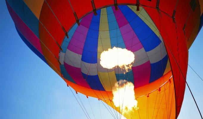 Heißluftballonfahrt in Kamp-Lintfort