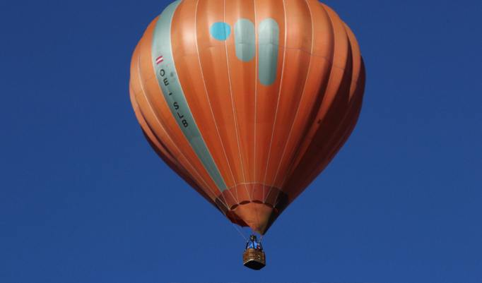 Gutschein für Alpenfahrt im Heißluftballon