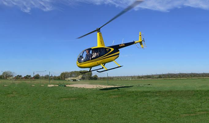 Hubschrauber selber fliegen - 20 Minuten in Mülheim an der Ruhr