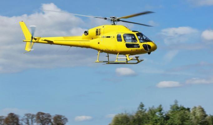Hubschrauber selber fliegen - 20 Minuten in Speyer
