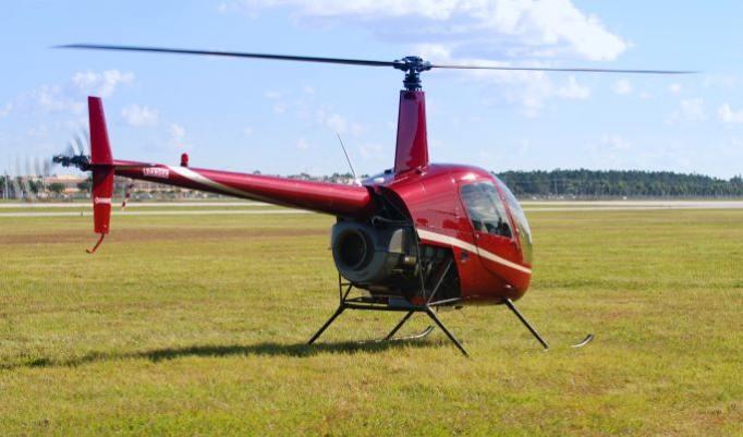 Hubschrauber selber fliegen - 20 Minuten in Bayreuth