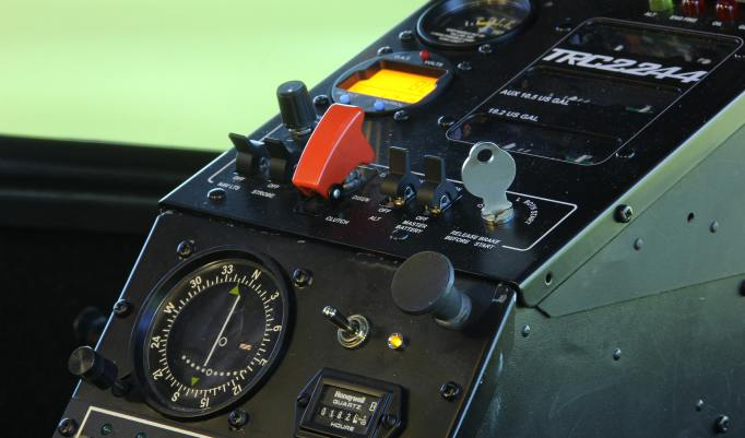 Robinson R22 Flugsimulator in Dierikon