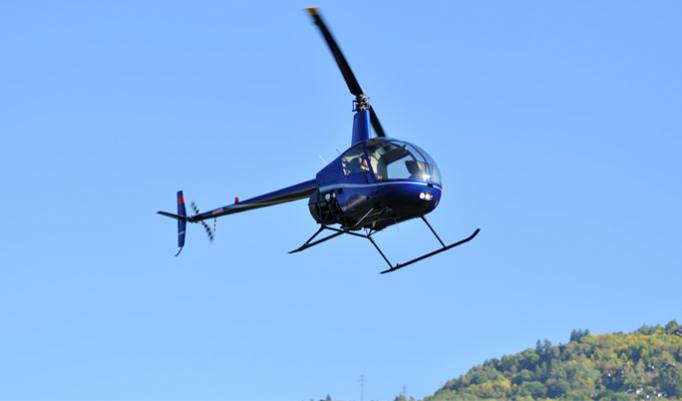 Hubschrauber selber fliegen - 20 Minuten im Raum Frankfurt am Main