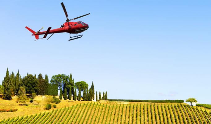 Hubschrauber Rundflug für Drei in Cottbus