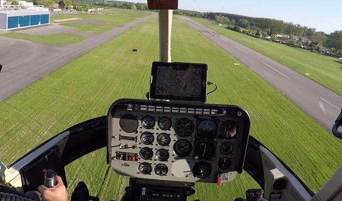 Hubschrauberpilot für einen Tag