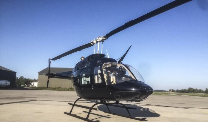Hubschrauber fliegen in Jahnsdorf