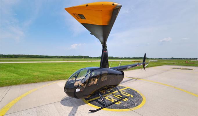 Hubschrauber fliegen in Hannover
