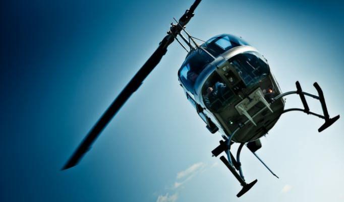 Hubschrauber fliegen burbach