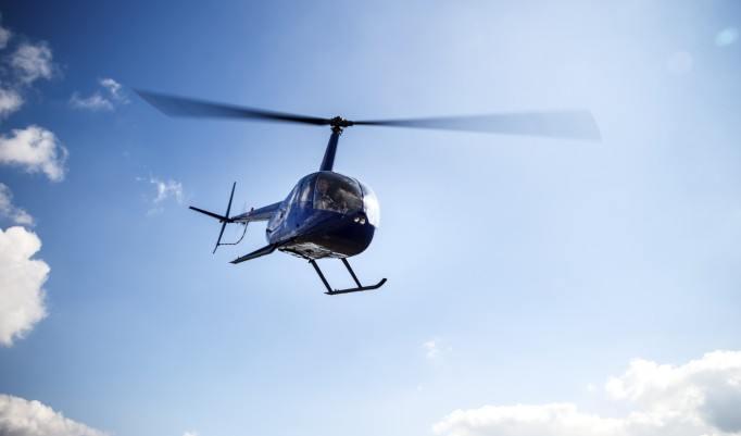 Hubschrauber Flug Raum Leipzig verschenken