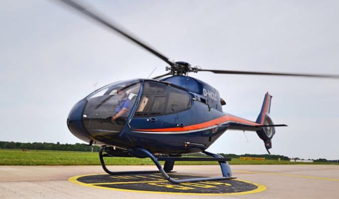 Hubschrauber fliegen in Bielefeld
