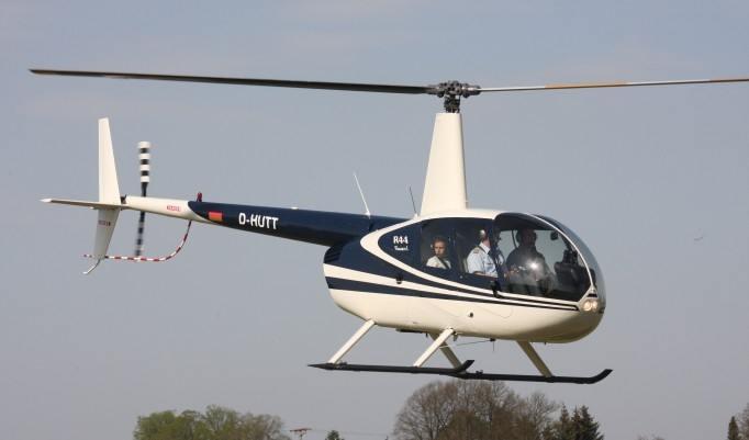 Hubschrauber Ansicht von unten