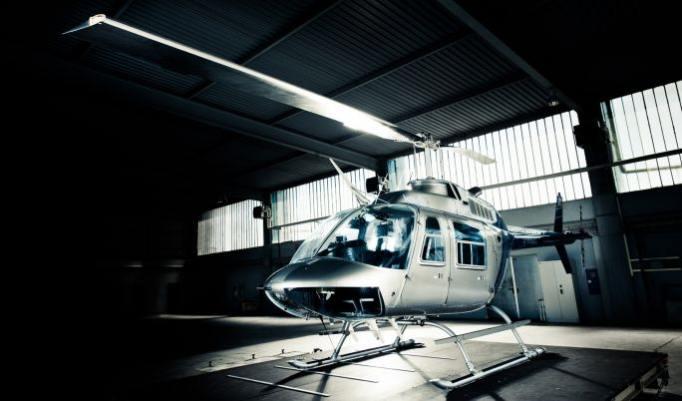 Hochzeitsflug im Hubschrauber