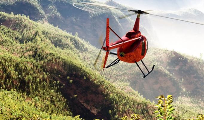 Hubschrauber selber fliegen - 20 Minuten in Sömmerda