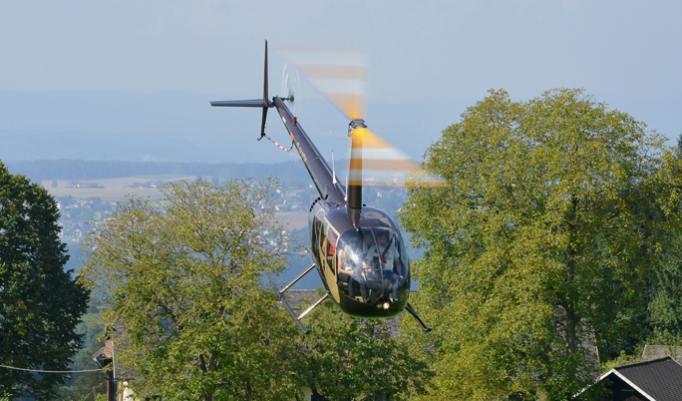 Hubschrauber Rundflug für Drei
