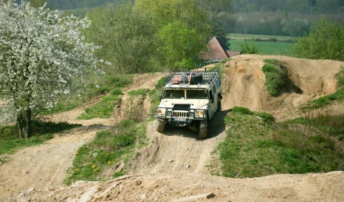 Hummer fahren in Langenaltheim