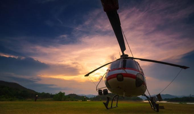 Helikopter Rundflug in Heist