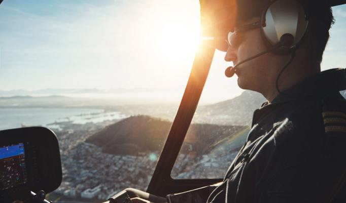 Hubschrauber selber fliegen in Cottbus