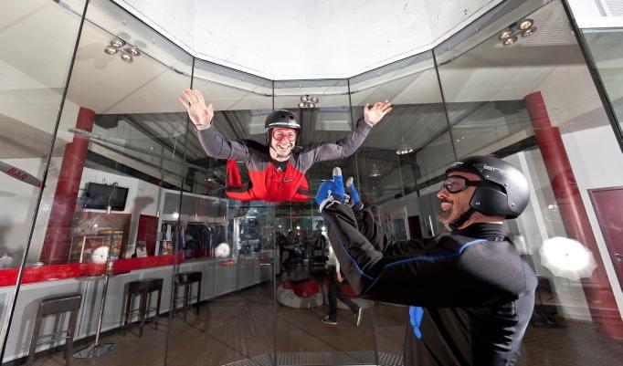 Indoor Skydiving Spaß