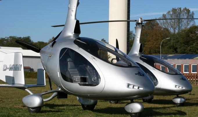 Gyrocopter Rundflug in Hamburg