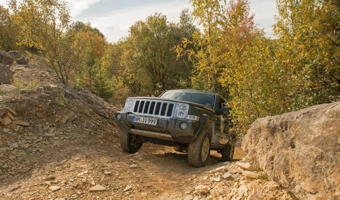 Jeep offroad selber fahren