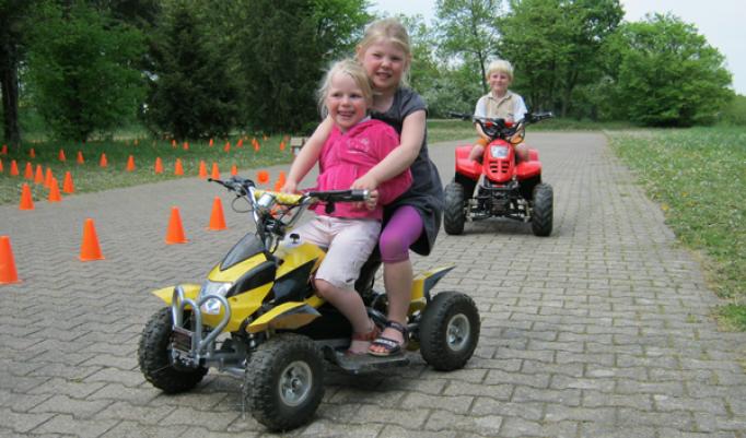 Quad fahren für Kinder