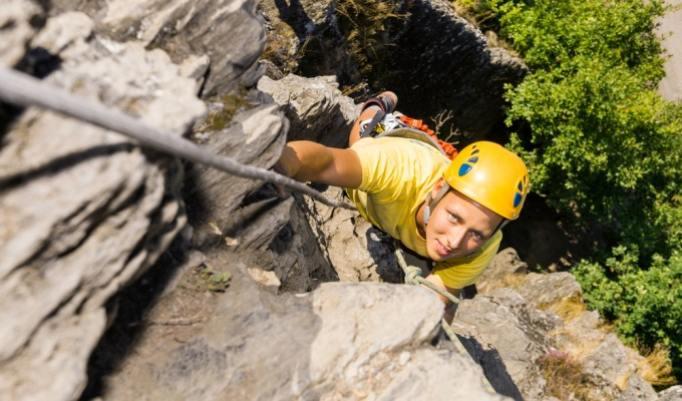 Klettersteig Erlebnis