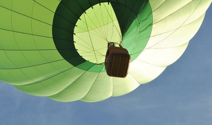 Ballonfahrt in Rothenburg ob der Tauber