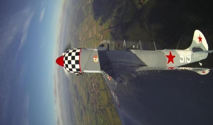 Jagdflug – Pilot für einen Tag in Oldenburg