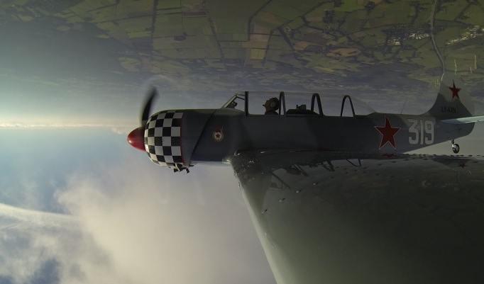 Kunstflug YAK 52 in Bremen