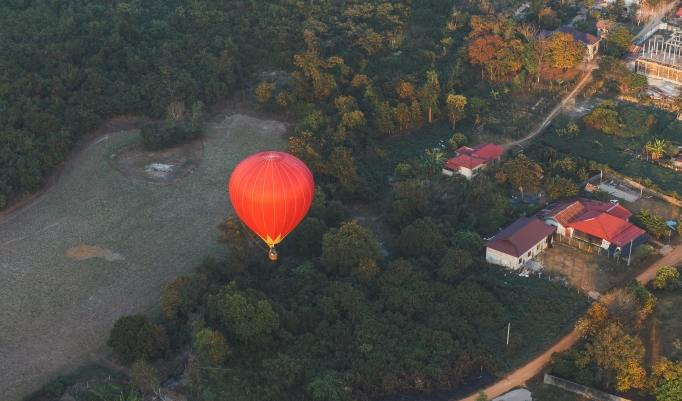 Heißluftballonfahrt in Bremervörde