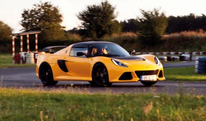 Lotus Exige Beifahrer