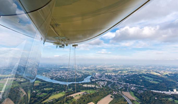 Im Luftschiff über das Ruhrgebiet
